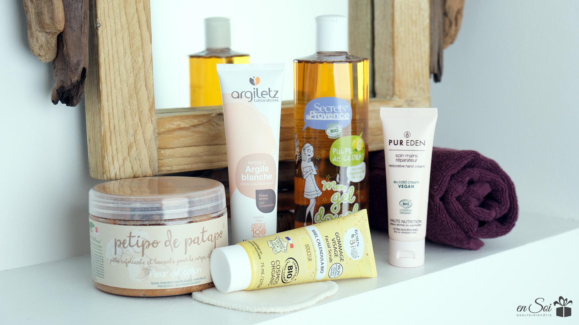 Chouchoutez-vous avec des produits visage et corps bio et fabriqués en France